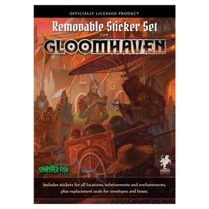 Sinister Fish GLOOMHAVEN: REMOVABLE STICKERS SET