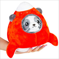 "SQUISHABLE 7"" PANDA IN SPACE SHIP"