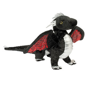 Douglas Cuddle Toys VINCENT BLACK DRAGON 17""
