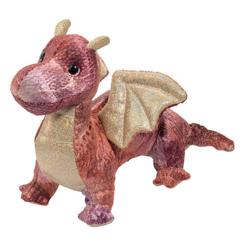Douglas Cuddle Toys KAYDA PURPLE BABY DRAGON 8.5""