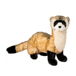 Douglas Cuddle Toys VINCE BLACK FOOTED FERRET 10""