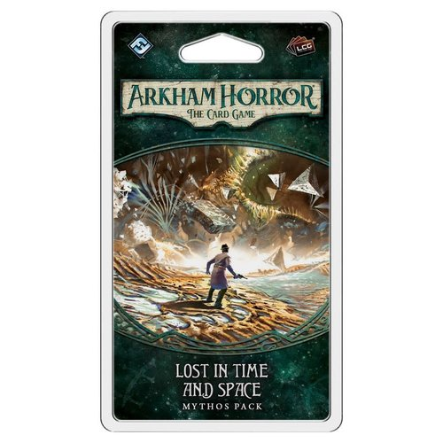 Fantasy Flight Games ARKHAM HORROR LCG: LOST IN TIME & SPACE MYTHOS PACK