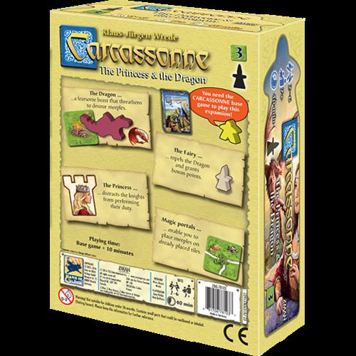 Z-Man Games CARCASSONNE: PRINCESS & DRAGON