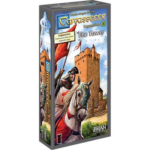 Z-Man Games CARCASSONNE: THE TOWER