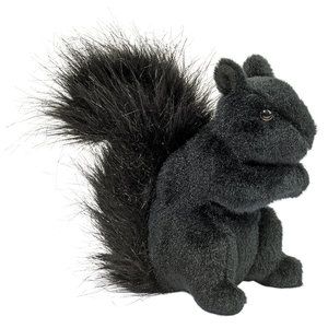 Douglas Cuddle Toys HI-WIRE BLACK SQUIRREL 6.5""