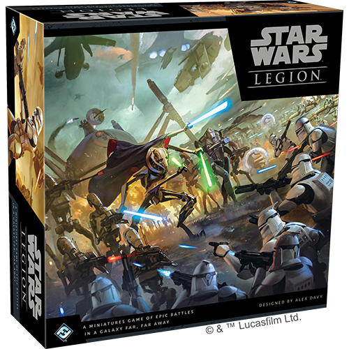 Fantasy Flight Games STAR WARS: LEGION - CLONE WARS