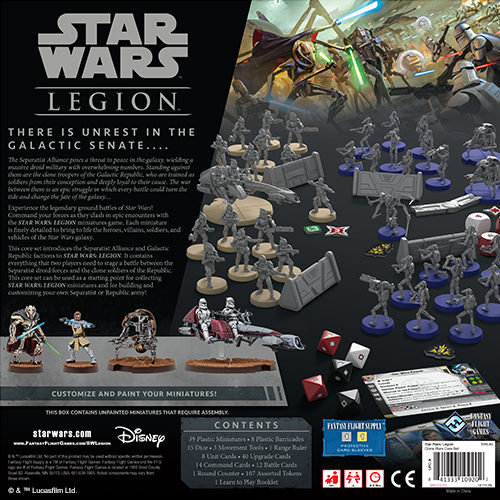 Fantasy Flight Games STAR WARS: LEGION - CLONE WARS