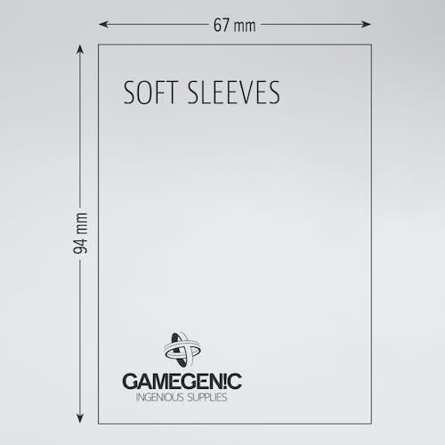 GAMEGENIC DECK PROTECTOR: SOFT SLEEVES (100)