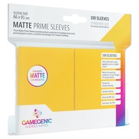 DECK PROTECTOR: MATTE PRIME - YELLOW (100)