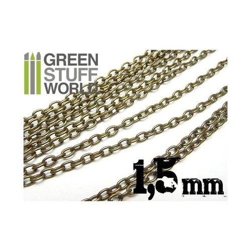 Green Stuff World HOBBY CHAIN: 1.5 mm