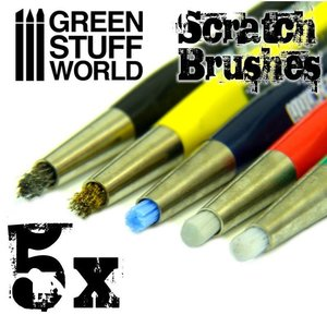 Green Stuff World SCRATCH BRUSH PENS
