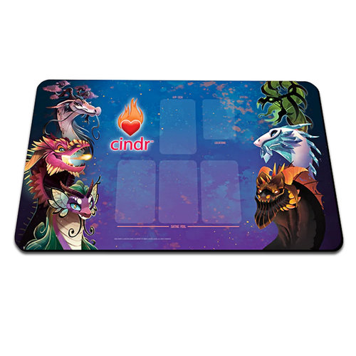 Smirk and Dagger CINDR GAME MAT