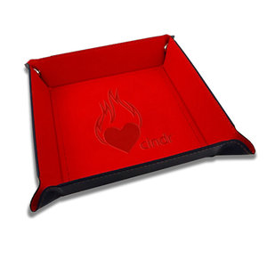 Smirk and Dagger CINDR FOLDABLE DICE TRAY