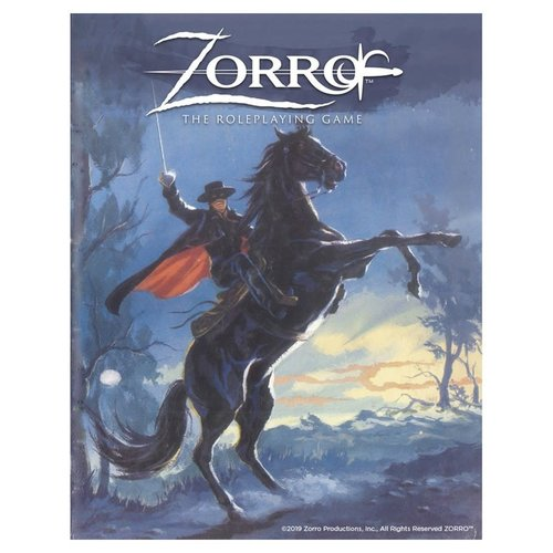 GALLANT KNIGHT GAMES ZORRO: THE ROLEPLAYING GAME
