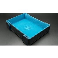 DICE TRAY: MAGNETIC TEAL RECTANGLE