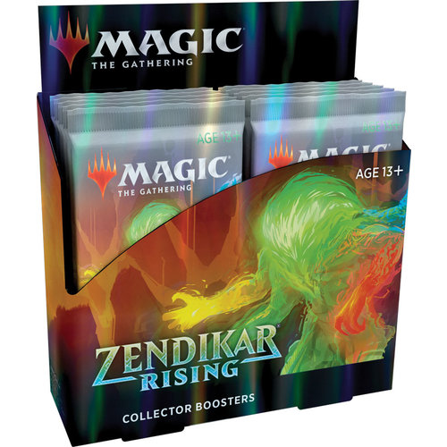 Wizards of the Coast MTG: ZENDIKAR RISING - COLLECTOR BOOSTER