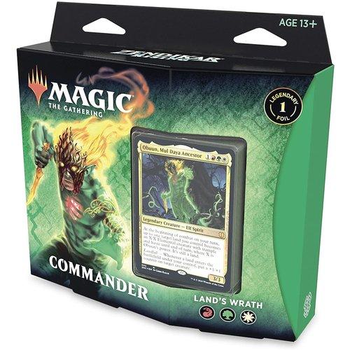 Wizards of the Coast MTG: ZENDIKAR RISING - LANDS WRATH - COMMANDER DECK