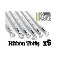 RIBBON SCULPTING TOOL SET (6)