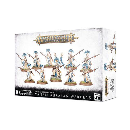 Games Workshop LUMINETH VANARI AURALAN WARDENS
