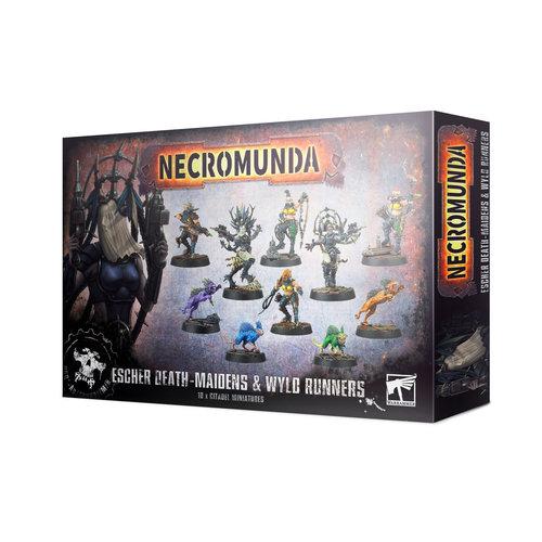 Games Workshop NECROMUNDA: DEATH MAIDENS & WYLD RUNNERS