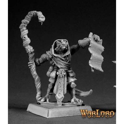 Reaper Miniatures WARLORD: PAKPAO, REPTUS MAGE