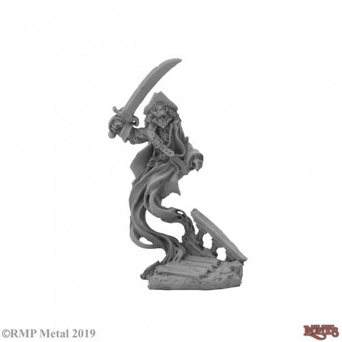 Reaper Miniatures DARK HEAVEN: GHOST PIRATE CAPTAIN