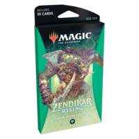 MTG: ZENDIKAR RISING - GREEN THEME BOOSTER
