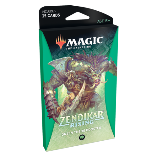 Wizards of the Coast MTG: ZENDIKAR RISING - GREEN THEME BOOSTER