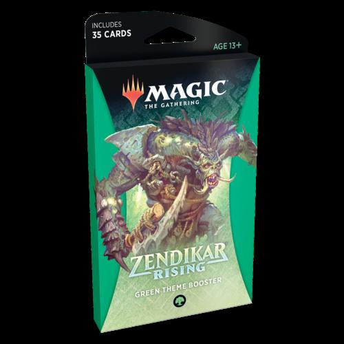 Wizards of the Coast MTG: ZENDIKAR RISING - GREEN THEME BOOSTER