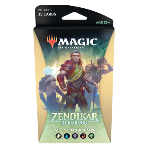 Wizards of the Coast MTG: ZENDIKAR RISING - PARTY THEME BOOSTER
