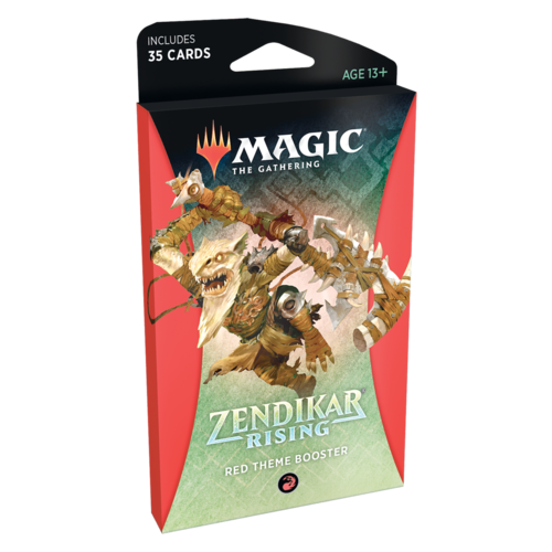 Wizards of the Coast MTG: ZENDIKAR RISING - RED THEME BOOSTER