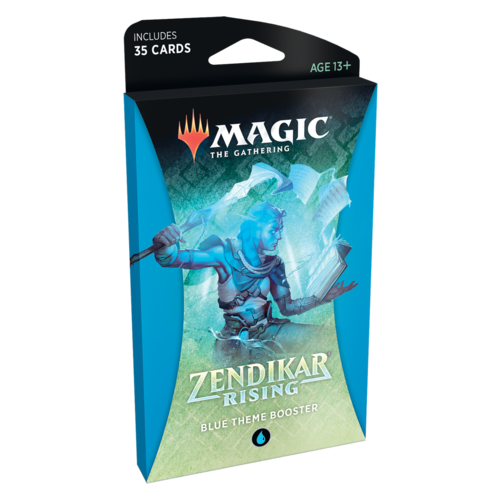 Wizards of the Coast MTG: ZENDIKAR RISING - BLUE THEME BOOSTER