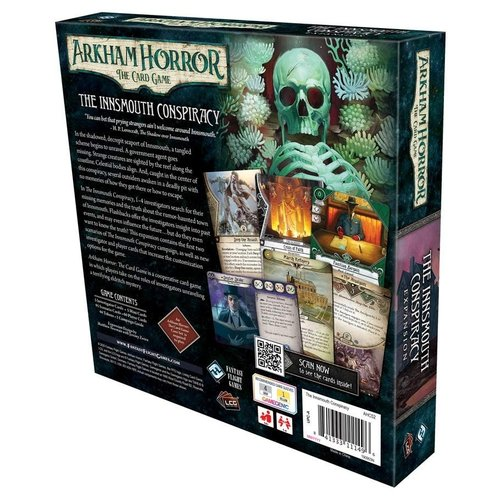 Fantasy Flight Games ARKHAM HORROR LCG: THE INNSMOUTH CONSIPIRACY