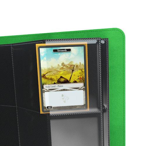 GAMEGENIC BINDER: PRIME 8 POCKET - GREEN