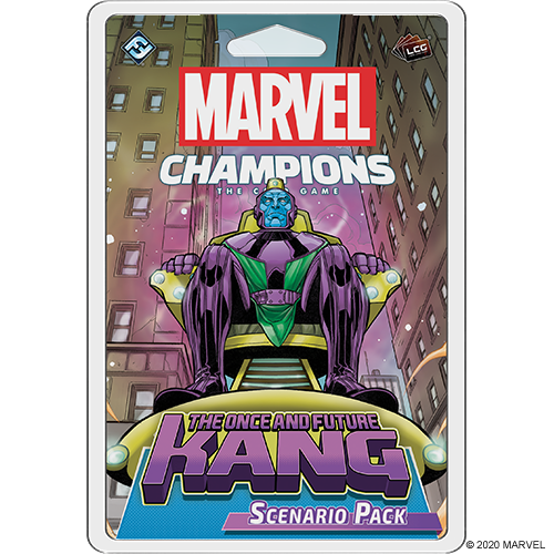Fantasy Flight Games MARVEL CHAMPIONS LCG: ONCE AND FUTURE KANG SCENARIO PACK