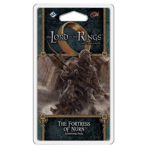 Fantasy Flight Games LORD OF THE RINGS LCG: THE FORTRESS OF NURN ADVENTURE PACK