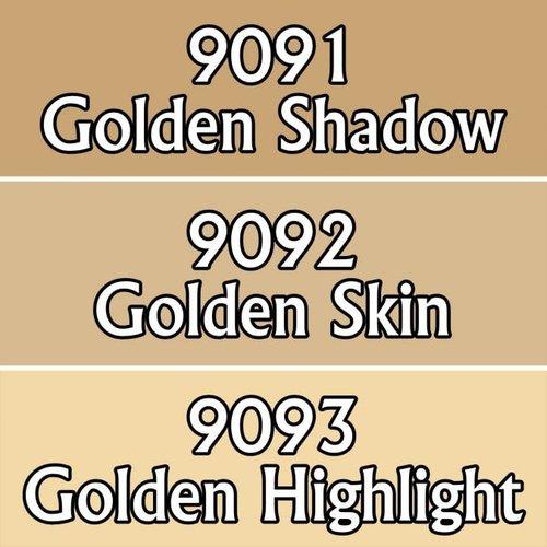 Reaper Miniatures REAPER: GOLDEN SKIN TRIAD