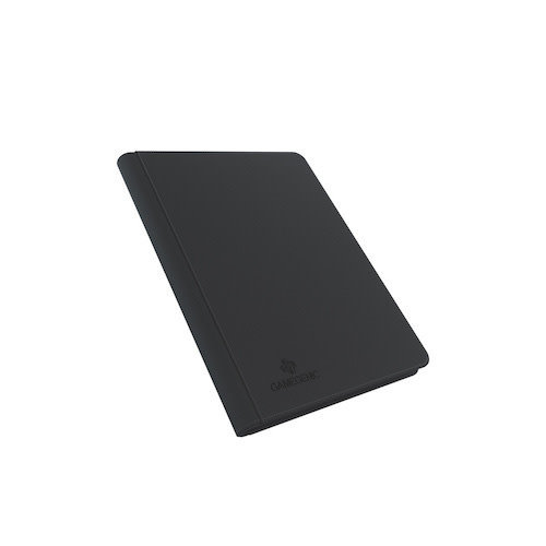 GAMEGENIC BINDER: ZIP-UP 18 POCKET - BLACK