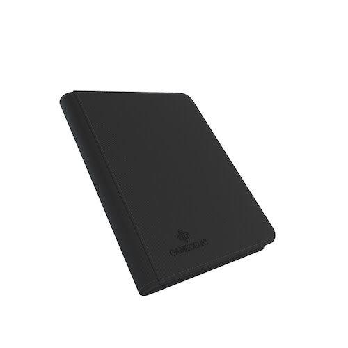 GAMEGENIC BINDER: ZIP-UP 8 POCKET - BLACK