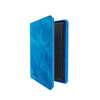 BINDER: ZIP-UP 8 POCKET - BLUE