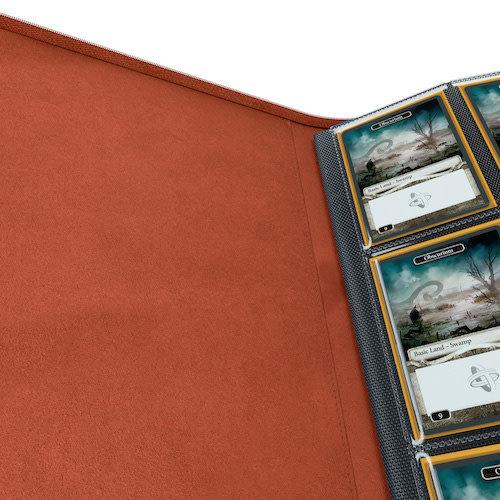 GAMEGENIC BINDER: ZIP-UP 8 POCKET - RED