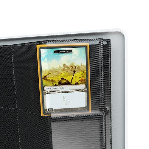 GAMEGENIC BINDER: ZIP-UP 8 POCKET - WHITE