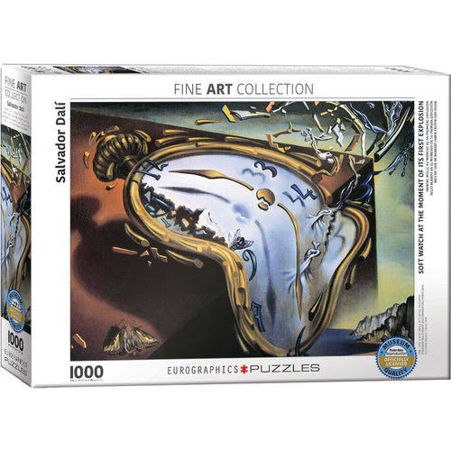 EUROGRAPHICS EG1000 SALVADOR DALI - SOFT WATCH AT MOMENT OF FIRST EXPLOSION