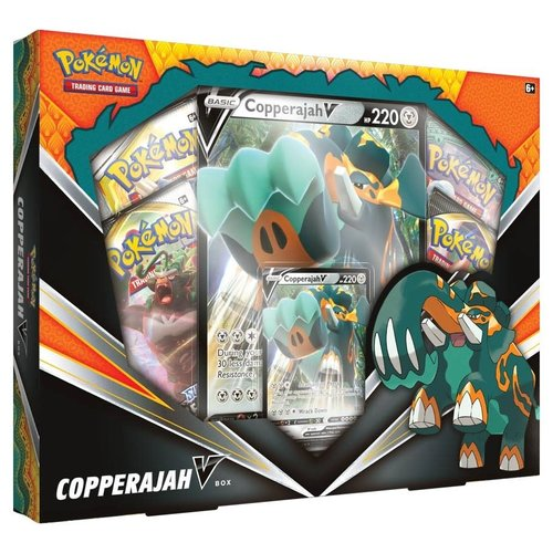 Pokemon USA POKEMON: COPPERAJAH V BOX