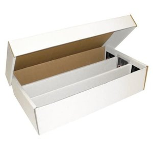 BCW Diversified CARDBOARD BOX: 3000 COUNT