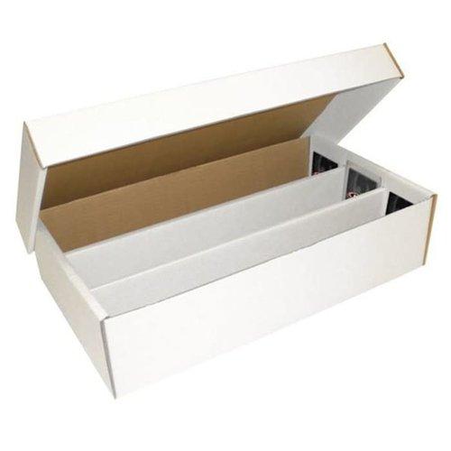 BCW Diversified CARDBOARD BOX: 3000 COUNT