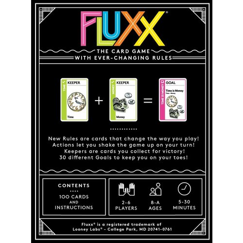 Looney Labs FLUXX 5TH EDITION