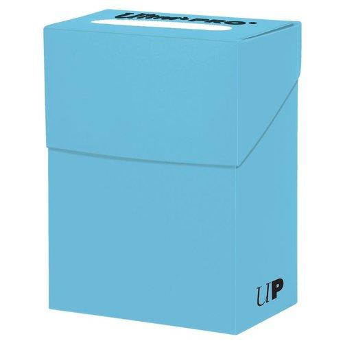 Ultra Pro International DECK BOX: SOLID LIGHT BLUE