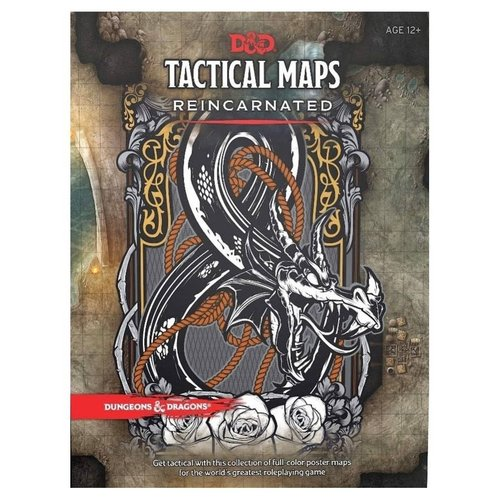 Wizards of the Coast D&D 5E: TACTICAL MAPS - REINCARNATED