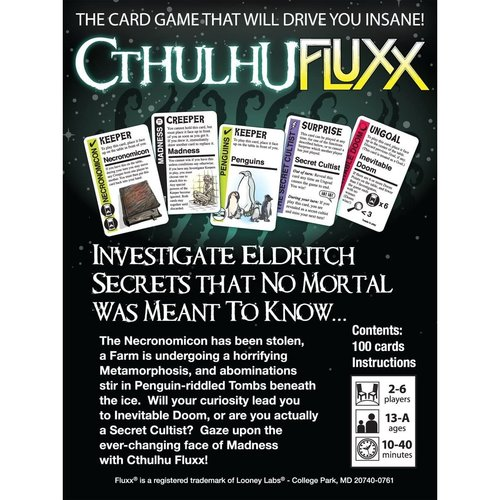 Looney Labs FLUXX: CTHULHU